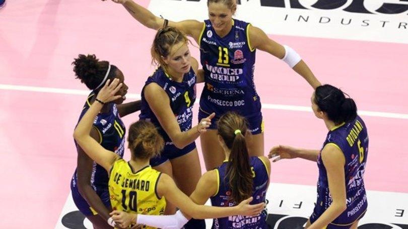 Volley: A1 Femminile, Scandicci-Conegliano anticipo di lusso