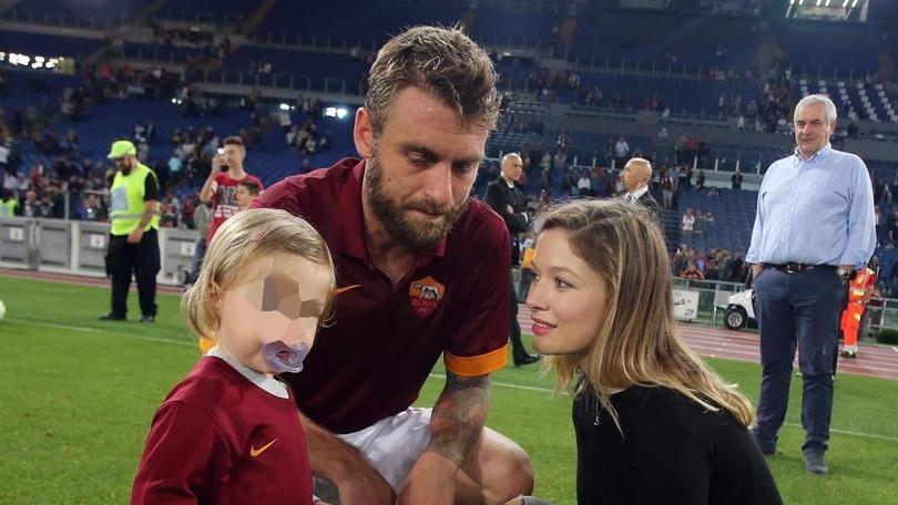 Roma, anche per De Rossi è in arrivo il terzo figlio