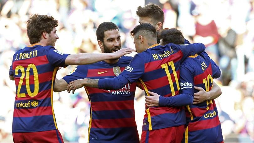 Liga, Barcellona esagerato: 6 gol al Getafe