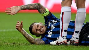Inter, Icardi infortunato contro il Bologna