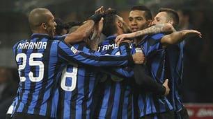 Serie A, Inter-Bologna 2-1: Perisic e D'Ambrosio accorciano sulla Roma