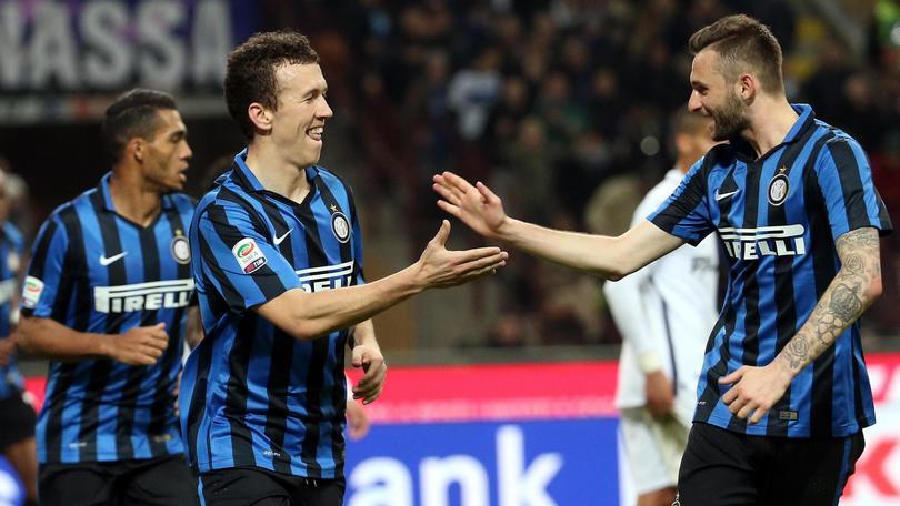 Serie A, Inter-Bologna 2-1: Perisic e D'Ambrosio, la Roma è a -2