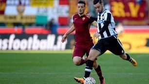 Udinese-Roma 1-2: Dzeko-Florenzi show, ora il Napoli è a -2