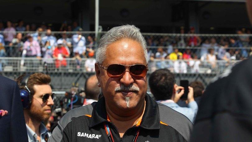 F1, libertà provvisoria per Mallya
