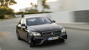 Nuova Mercedes E AMG 4Matic, la berlina da 400 cv