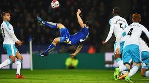 Leicester, la meraviglia di Okazaki contro il Newcastle