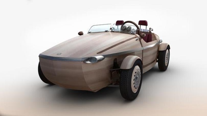 Toyota Setsuna, l'elettrica di legno per la Milano Design Week