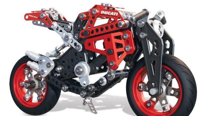 Monster 1200 S by Meccano, la Rossa per bambini