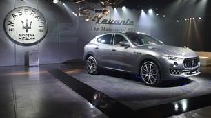 Maserati Levante, debutto show a Milano