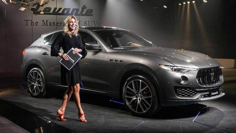 Maserati Levante, debutto di sartoria da Zegna