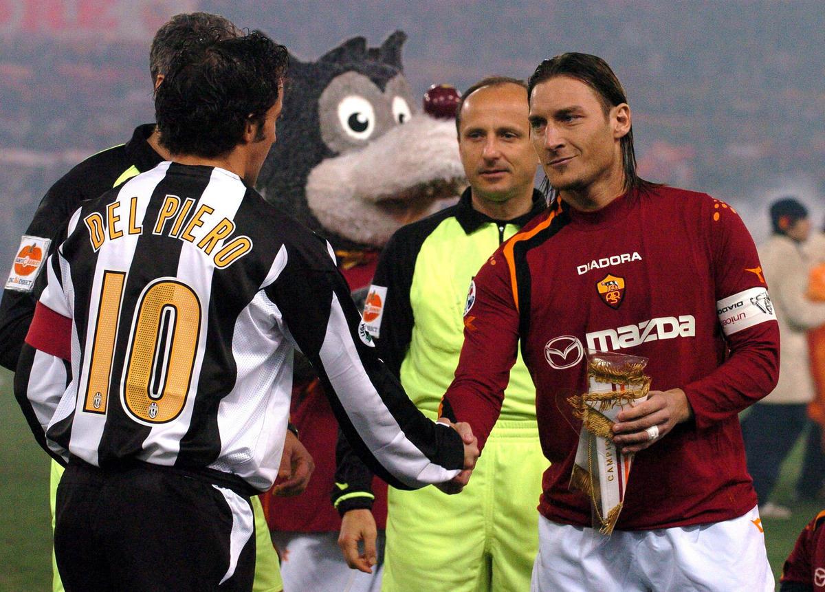 Da Totti a Di Bartolomei: ecco tutti i capitani della Roma