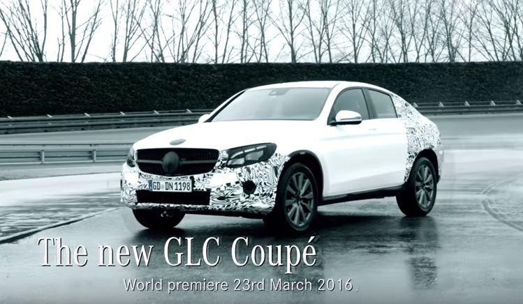 Mercedes GLC Coupé, il SUV sportivo debutta a New York