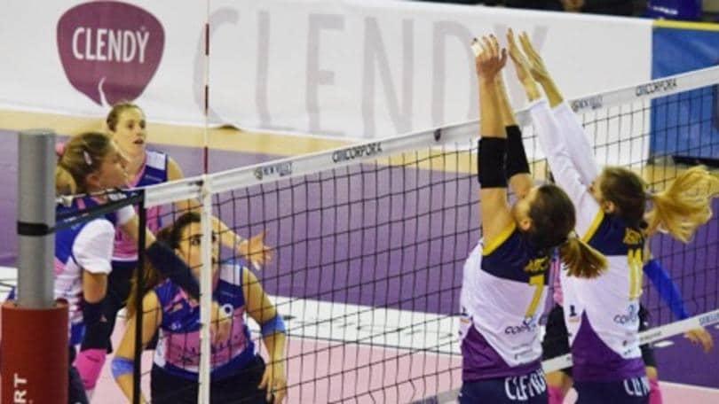 Volley: A2 Femminile, la 24a parte domani con due anticipi