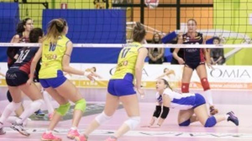 Volley: A2 Femminile, Settimo Torinese sbanca Cisterna