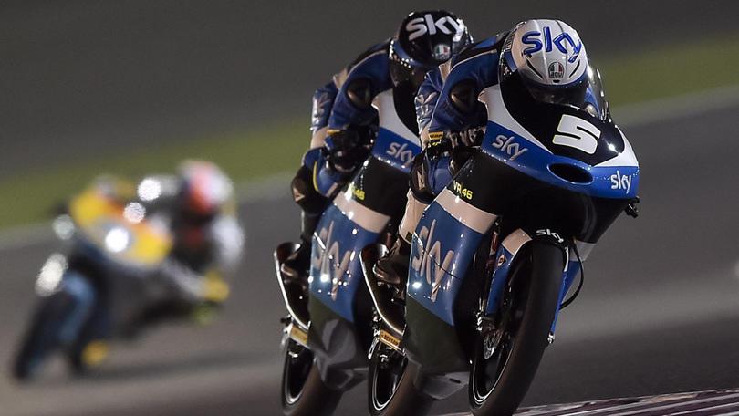 Moto3 Qatar, qualifiche: Italia in alto con Fenati