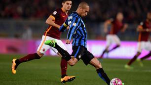 Roma-Inter 1-1: solo un pari, Spalletti fermato da Mancini