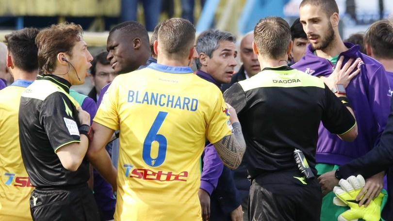 Serie A, la Fiorentina frena ancora. La Roma è a +5