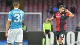 Napoli-Genoa: le immagini più emozionanti del match