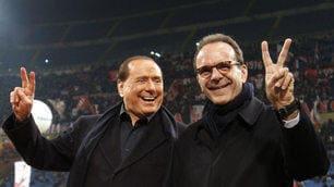 Milan-Lazio, Berlusconi allo stadio attacca Mihajlovic