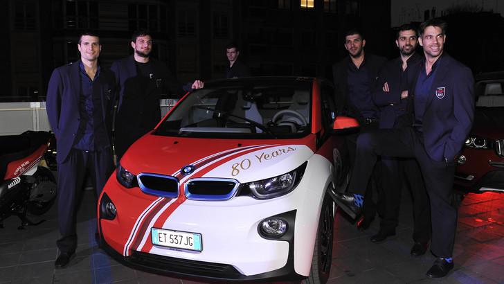BMW Milano e EA7 Emporio un sodalizio da campioni