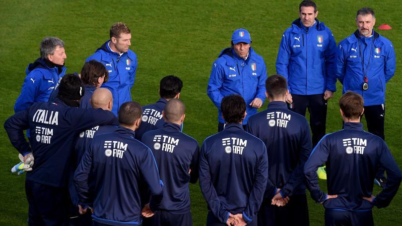 Nazionale, Italia: Conte, 3-4-3 contro la Spagna