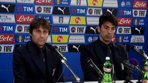 Italia, Conte e Buffon: testa alla Spagna