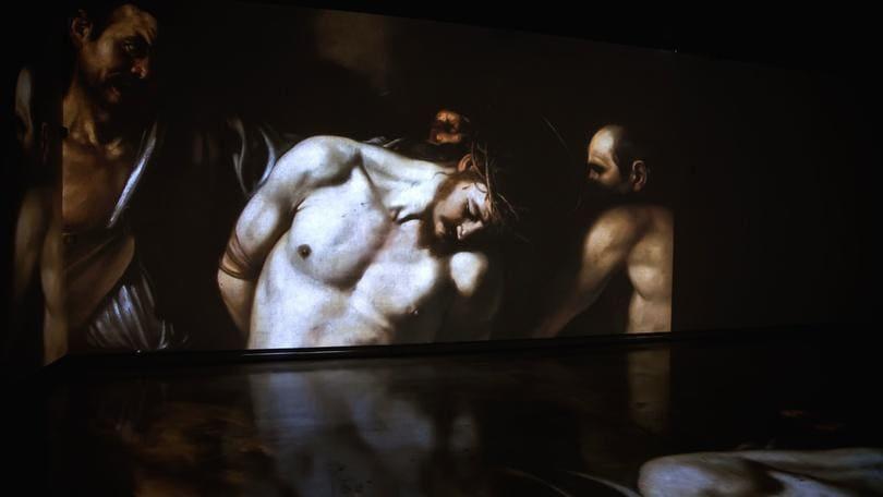 Caravaggio, esperienza surreale al Palazzo delle Esposizioni
