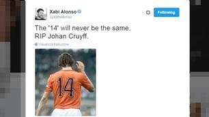 Addio a Cruyff, il mondo del calcio piange il profeta del gol