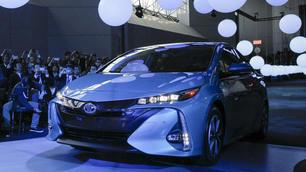 Toyota Prius Prime, Salone di New York 2016