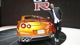 Usain Bolt padrino della nuova Nissan GT-R