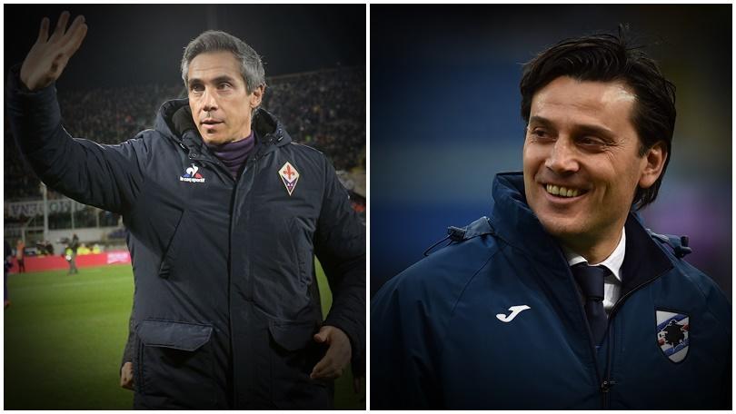Fiorentina, da Montella a Sousa: staffetta da applausi