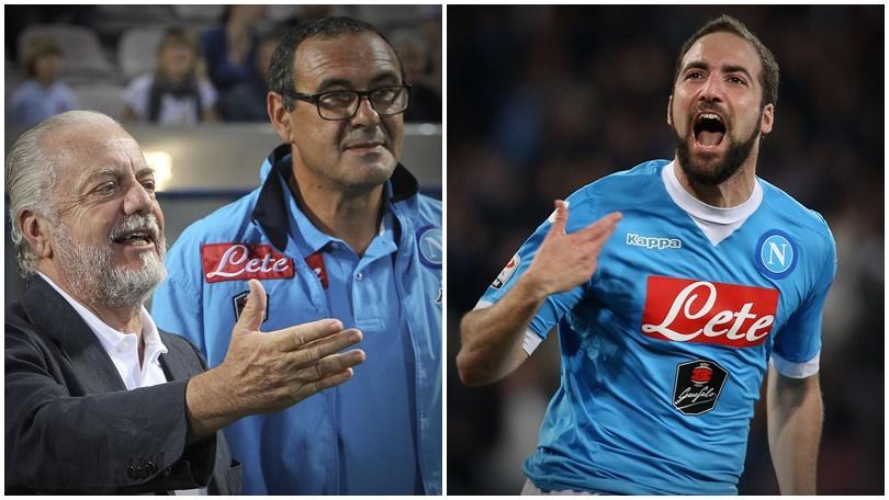 Calciomercato Napoli, Higuain e Sarri: ecco cosa può succedere