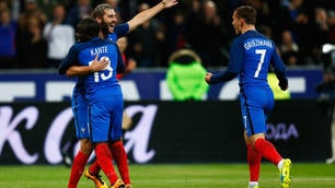 Euro 2016, Francia-Russia 4-2: in golKante-Gignac-Payet-Coman