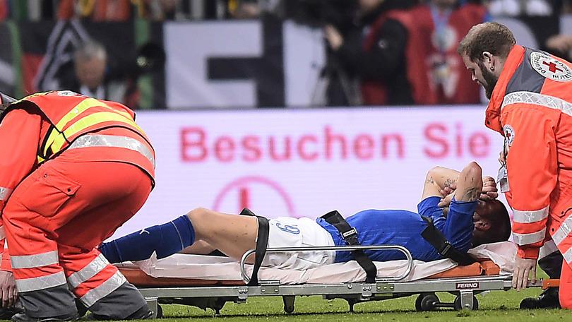 Bonucci fa preoccupare la Juve