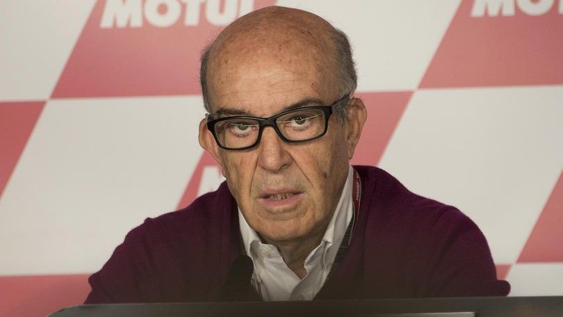 MotoGp, Ezpeleta a Sky: «Scintille Rossi-Lorenzo? Il bello del motociclismo»