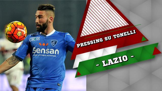Lazio, pressing forte su Tonelli