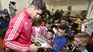 Juventus, per Morata conferenza stampa con i baby tifosi bianconeri