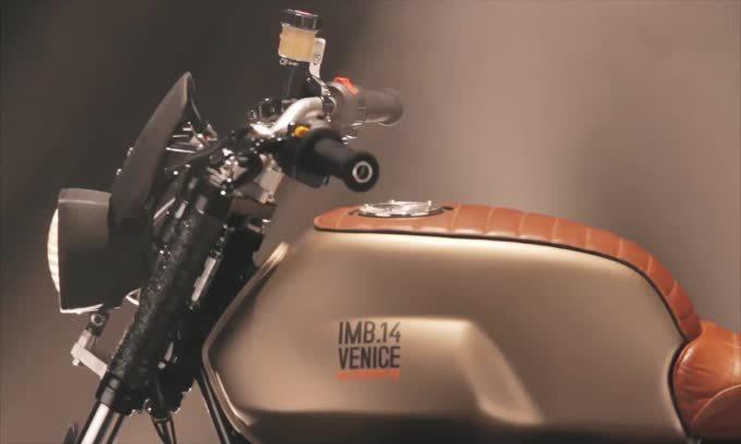 """Moto Guzzi """"Hunter"""", special da """"viaggio"""" di Imbarcadero 14"""