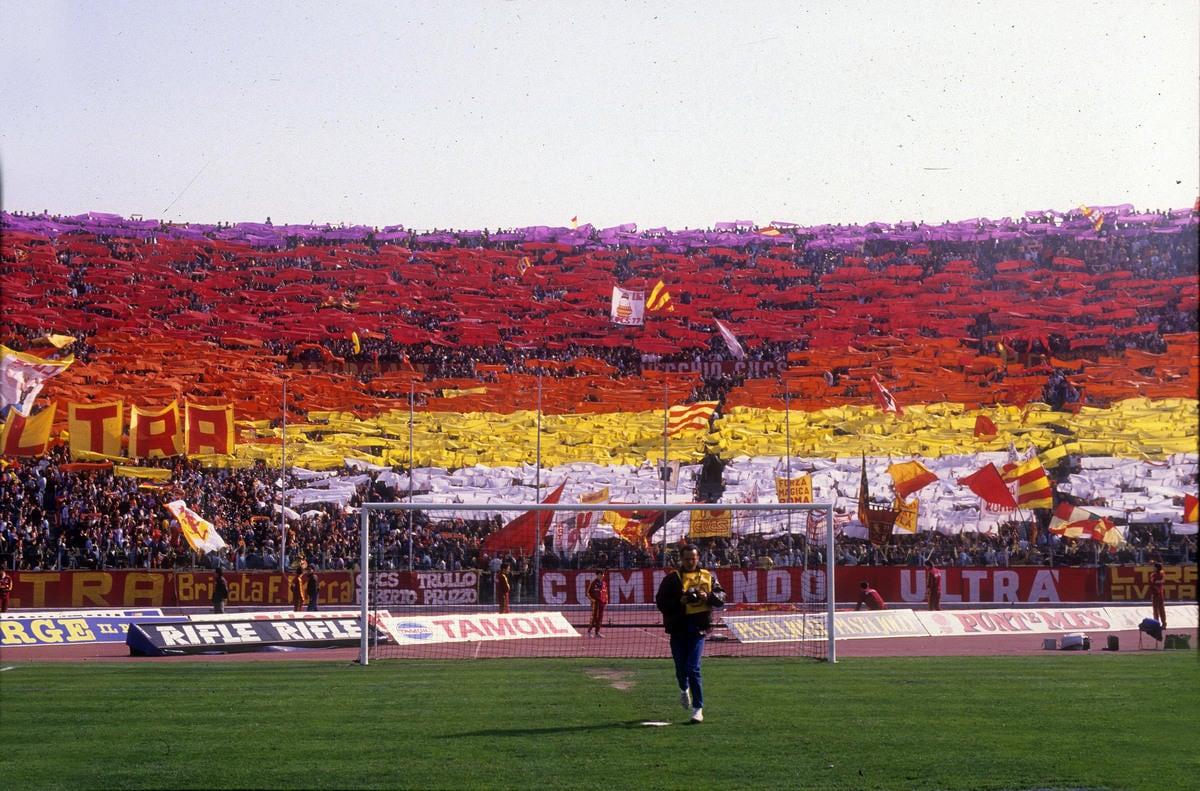 Quando il derby era...Il Derby: le coreografie più belle della Roma