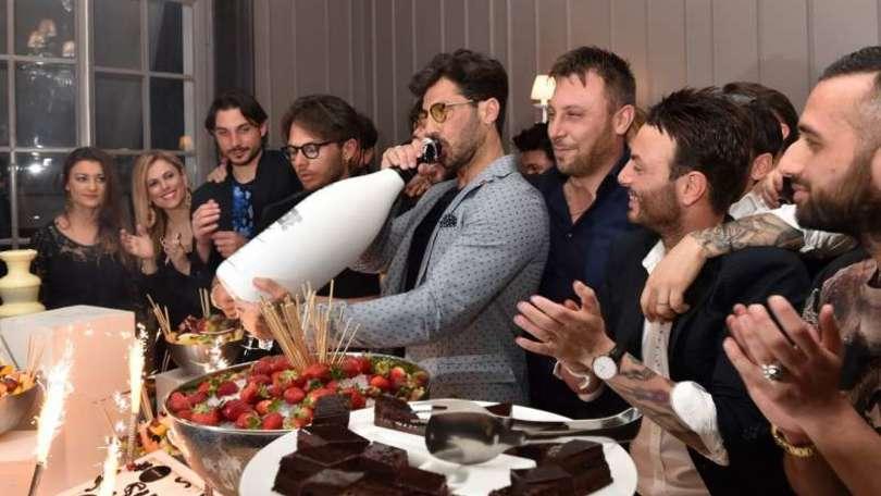 Fabrizio Corona, che festa a Roma per i 42 anni!