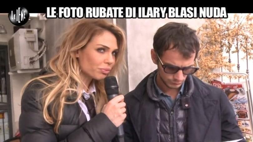 Ilary Blasi, lady Totti, Iena per la prima volta: «Le foto nuda? Non sono io»