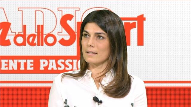 Valeria Solarino: «Il tennis? La mia ossessione»