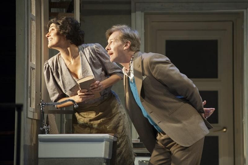 """Valeria Solarino e Giulio Scarpati in scena con """"Una giornata particolare"""""""