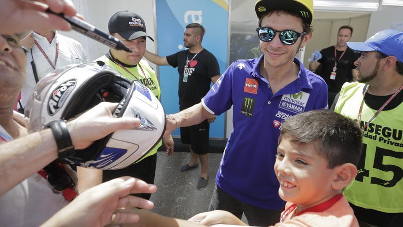 MotoGp, Jerez: la nona di Rossi a quota 8,00