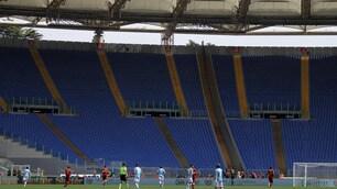 Lazio-Roma: i tifosi boicottano il derby, l'Olimpico è deserto