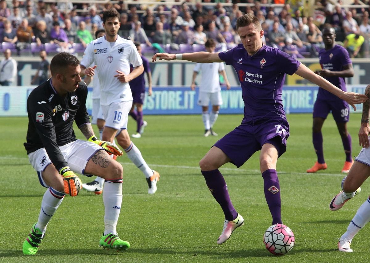 Fiorentina-Sampdoria 1-1: solo un pareggio al Franchi