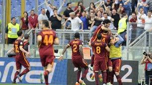 Lazio-Roma 1-4: i giallorossi trionfano, che poker all'Olimpico