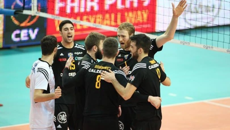 Volley: La Challenge Cup la alza Verona