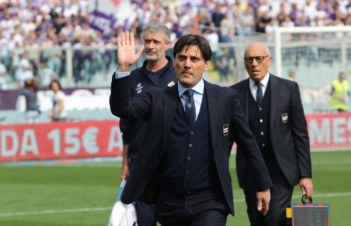 Fiorentina, che accoglienza per Montella!