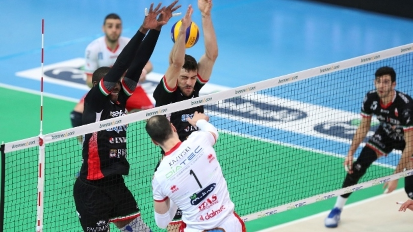 Volley: Superlega, Trento fatica ma va in semifinale